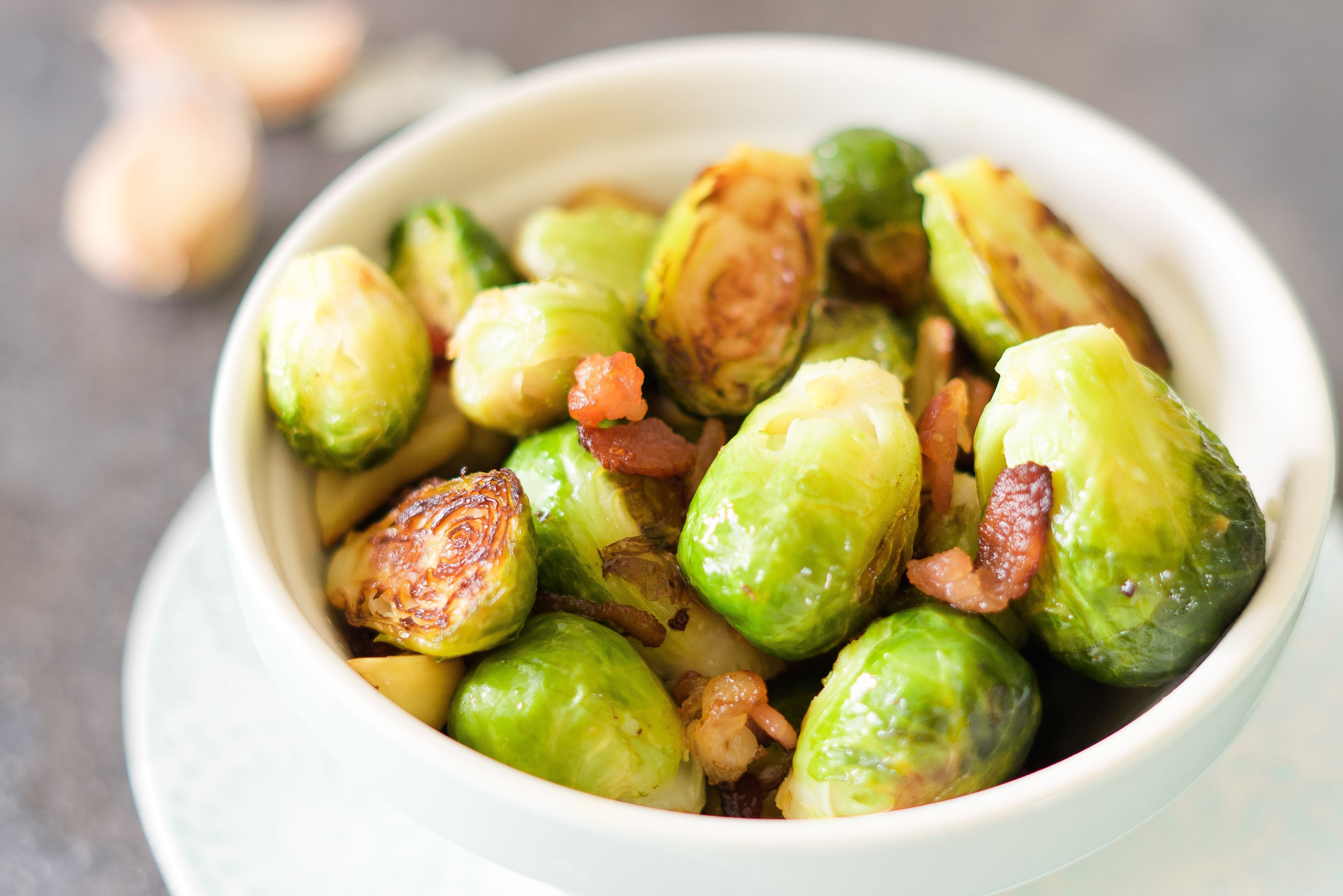Bacon Roasted Brussels Sprouts Recipe Prime Rib Dinner Prime Rib Sprout Recipes