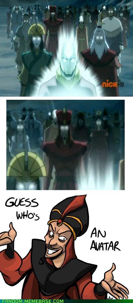 Oh Jafar Avatar The Last Airbender The Last Airbender Avatar Funny