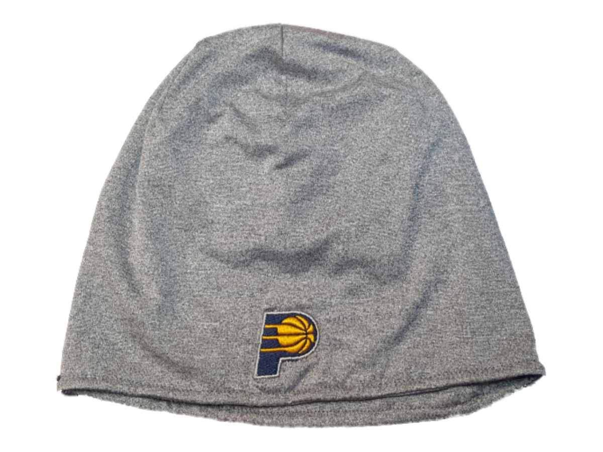 Indiana Pacers Gray Lightweight Polyester Performance Skull Beanie Hat Cap 5420387e21f