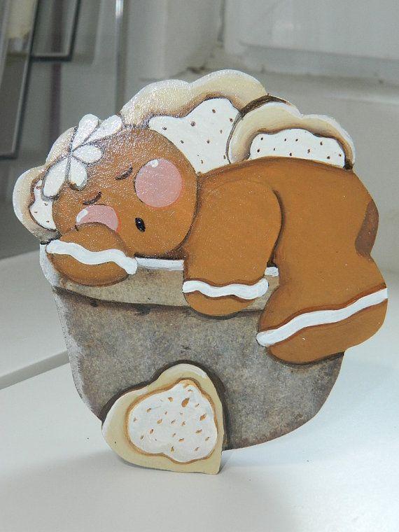 Ginger cookie par AmericanPaintArt sur Etsy, €8.00