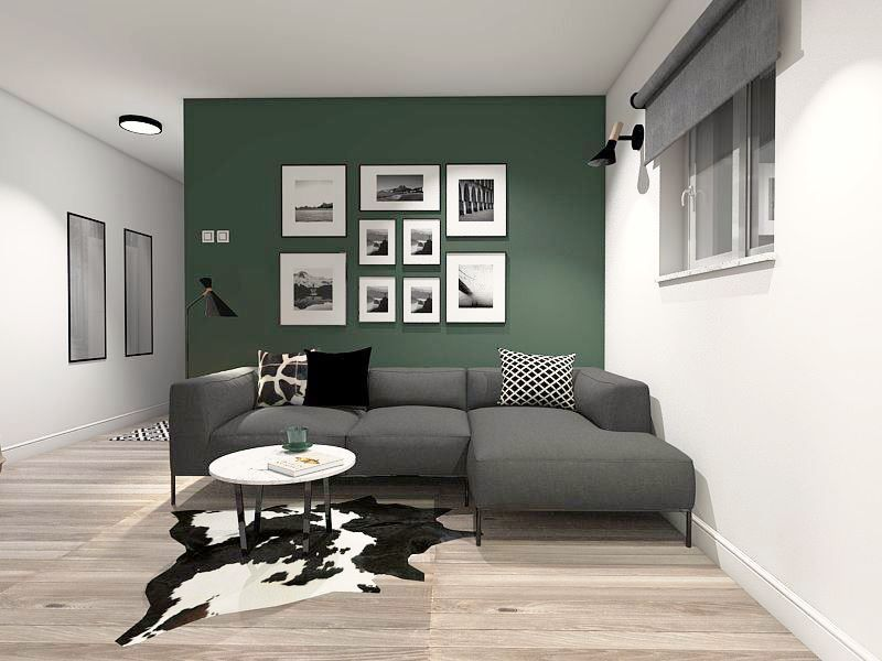 Green Accent Wall Living Room Design Living Room Designs Accent Walls In Living Room Dark Green Living Room