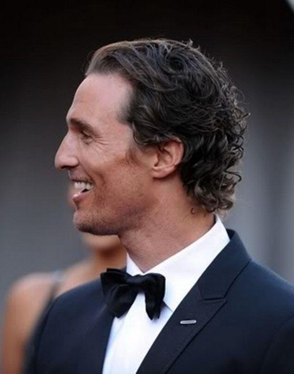 Matthew Mcconaughey Hairstyles Wavy Hair Men Curly Hair Men Men S Curly Hairstyles