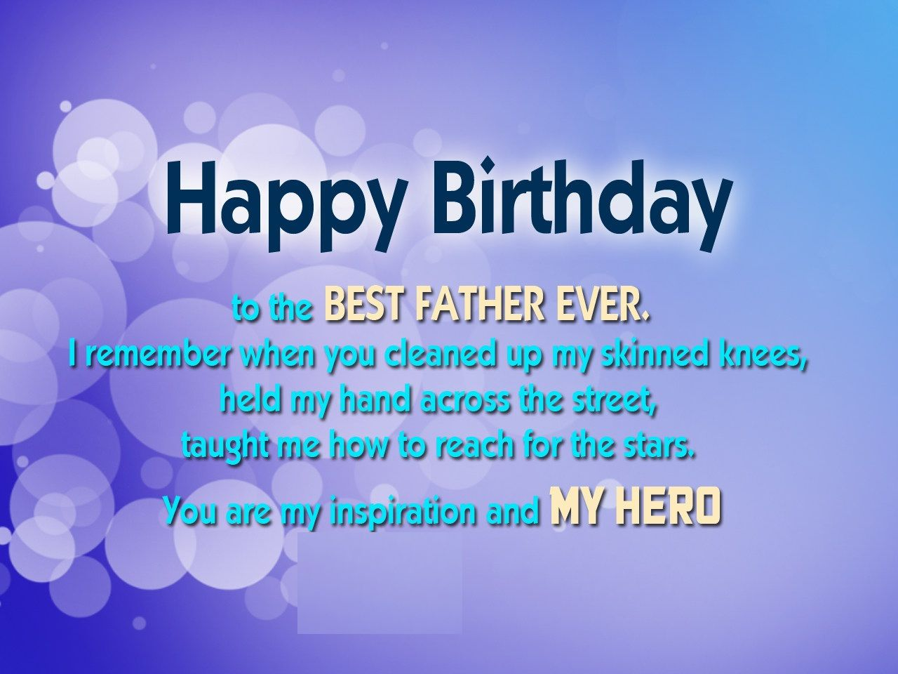 Happy Birthday Father Images Pictures and wallpapers – Happy Birthday Card for Father