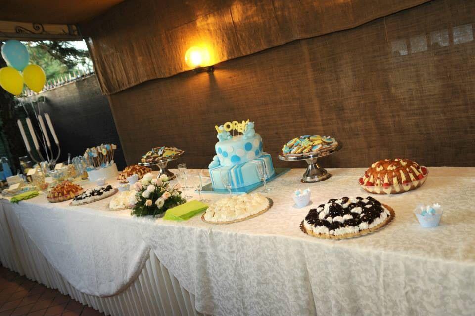 Buffet Di Dolci Battesimo : Buffet di frutta e dolci foto di tenuta donna sandra