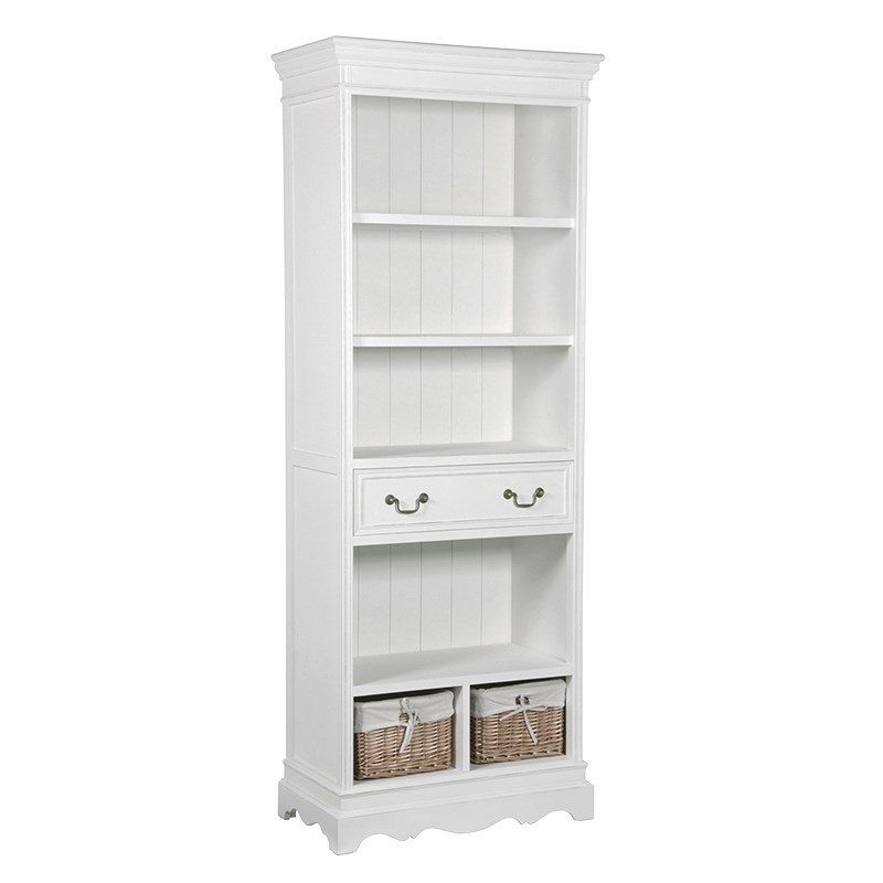 White Bookcase With Drawers Bookshelf With Drawers On Bookcase With Drawers Shabby Chic Dresser Bookcase