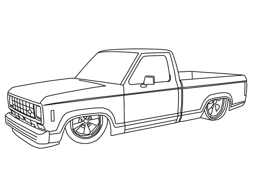ford ranger truck drawings 1024 730 drawing of ford pinterest. Black Bedroom Furniture Sets. Home Design Ideas