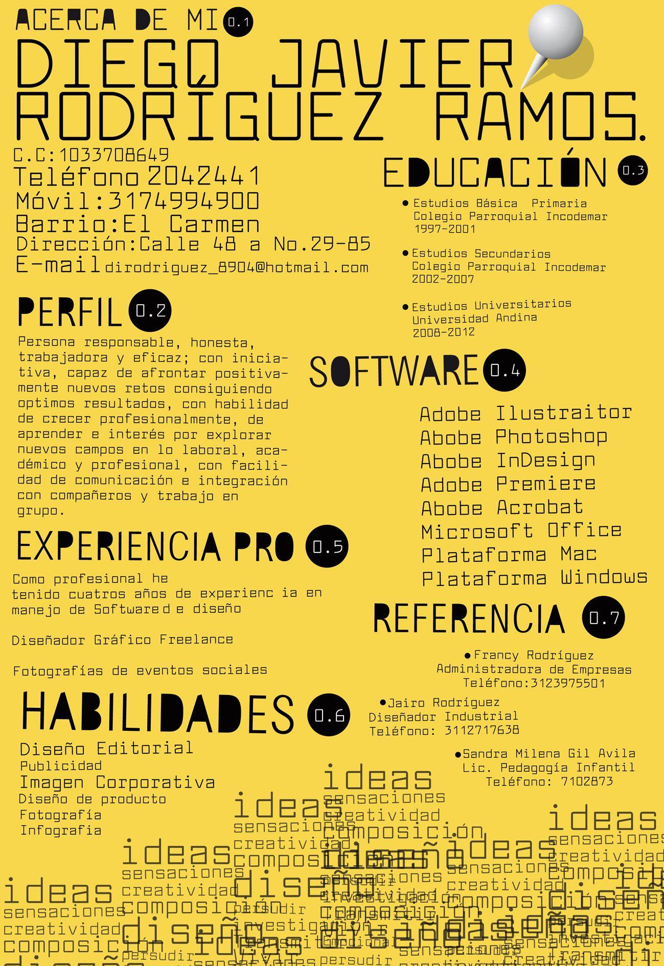Exemple De Cv En Espagnol Seconde Peatix