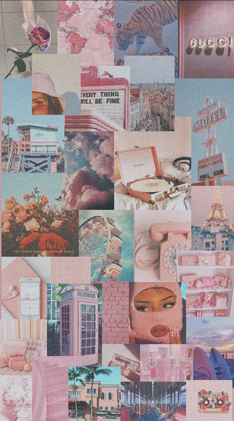 🍓🏝 6+ Vintage Christmas Aesthetic Wallpaper Pink 2020