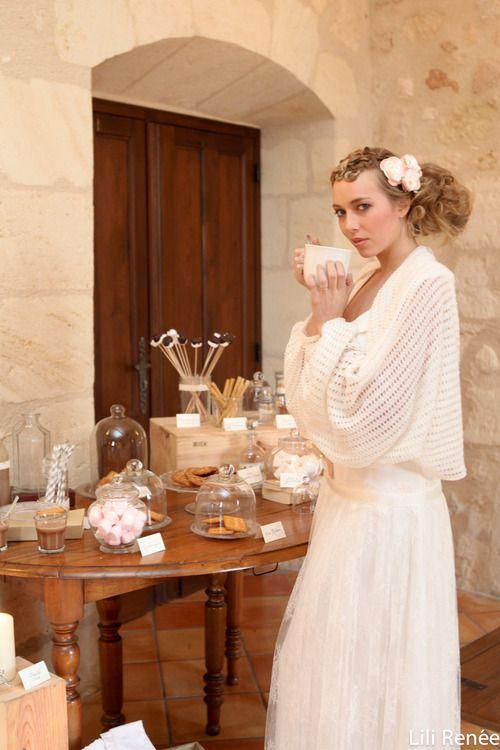 shooting d 39 inspiration popular mariage en hiver robe. Black Bedroom Furniture Sets. Home Design Ideas