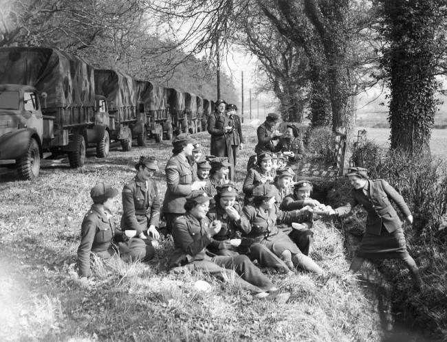 Mobile Canteens Of World War 2 1939 1945 World War World War