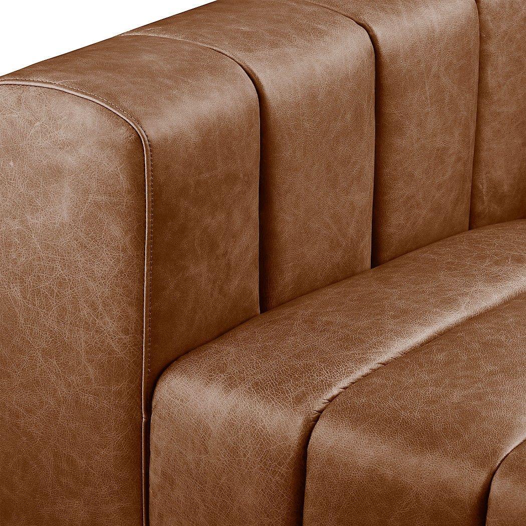 Forte Channeled Saddle Leather Extra