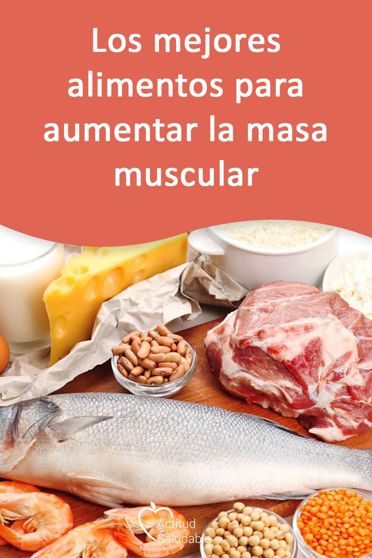 Los mejores alimentos para aumentar la masa muscular ...