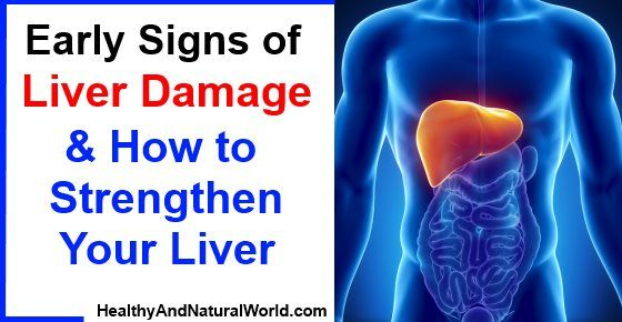 Telling Symptoms of Liver Damage You shouldn't Ignore ...