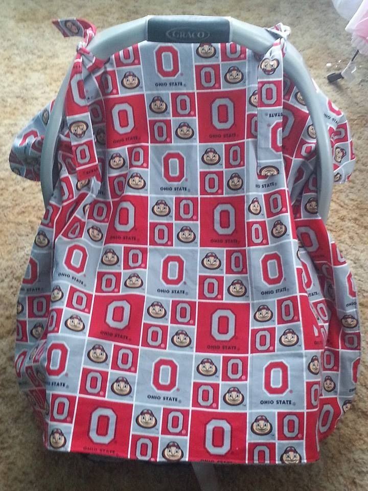 Ohio State Car Seat Cover