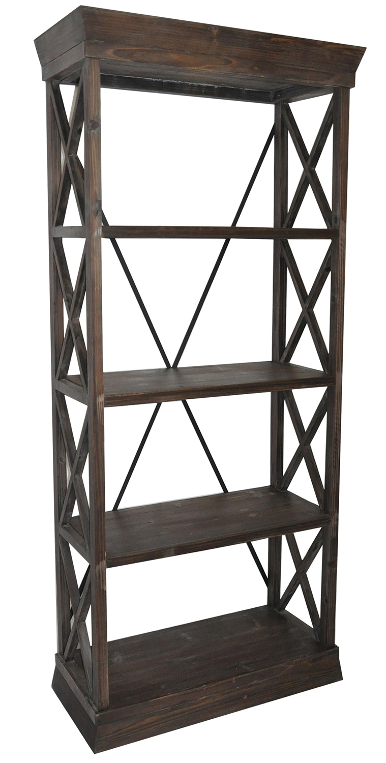 Grand Junction Bookcase | Crestview Collection | Home Gallery Stores