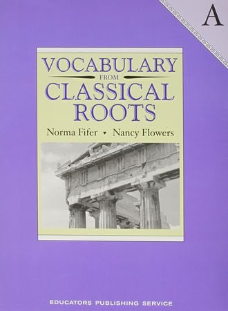 Vocabulary From Classical Roots Book A Grade 7 Edjimication