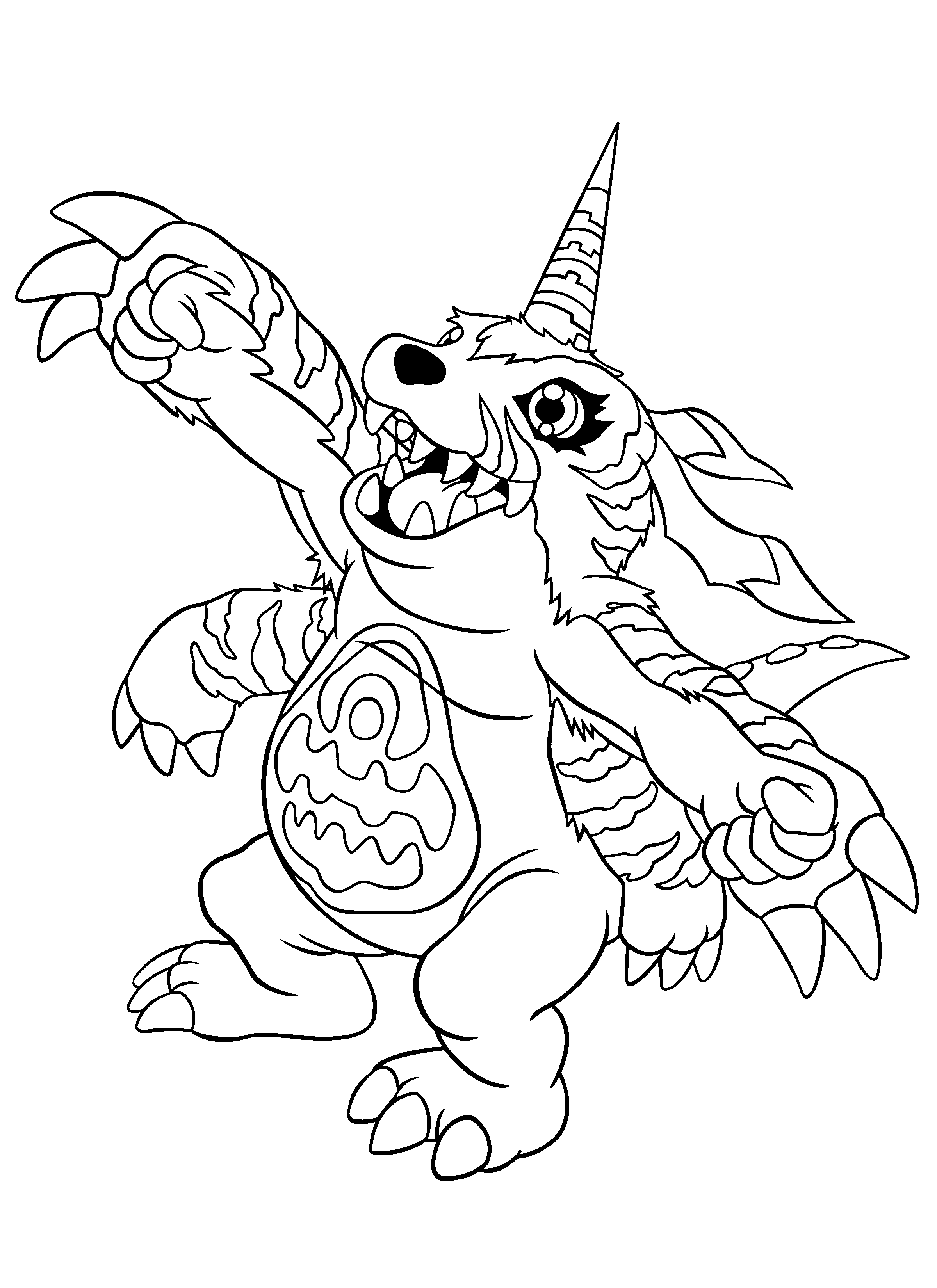 Coloring Page Digimon Coloring Pages 215 Cute Coloring Pages Coloring Pages Digimon Tattoo