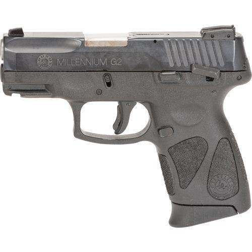 The Taurus PT111 Millennium G2 9mm Pistol features a blued-steel ...