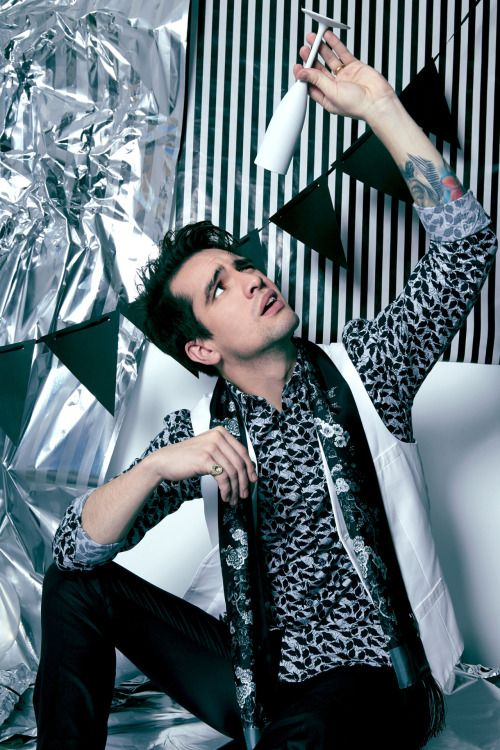 See Brendon Urie with #PanicAtTheDisco on tour this summer! #LiveNation