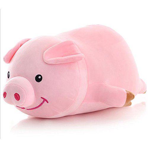 Dongcrystal 19.6 Animal pillows, Pet toys, Piggy