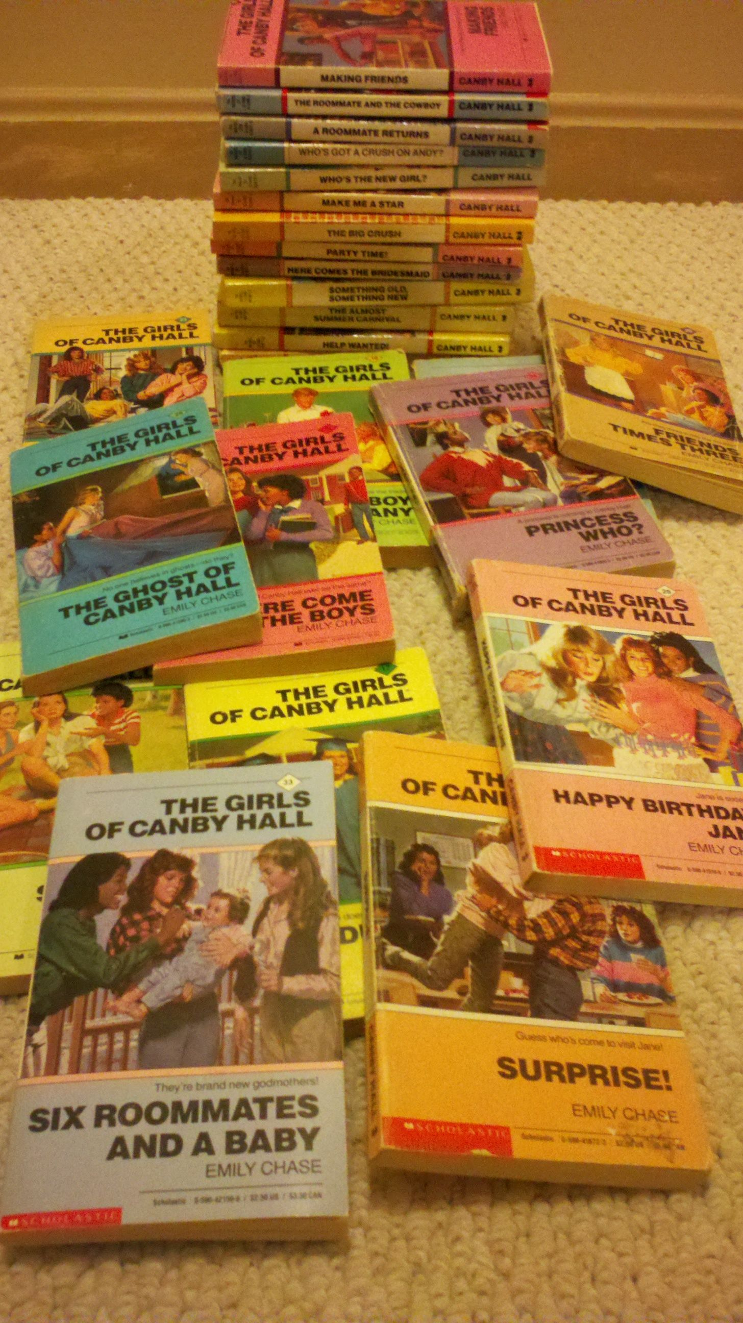 The Girls Of Canby Hall Series Was My Favorite When I Was In School