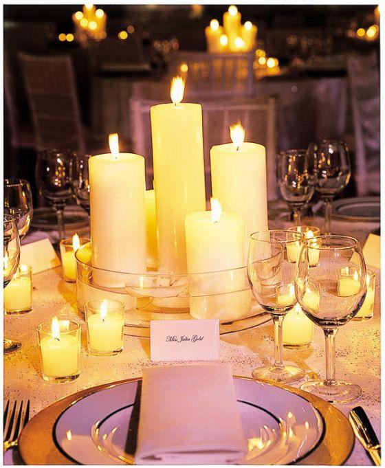 Tischdeko Mit Kerzen Ohne Blumen Deko Pinterest