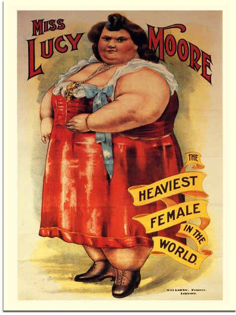 sideshow posters Vintage