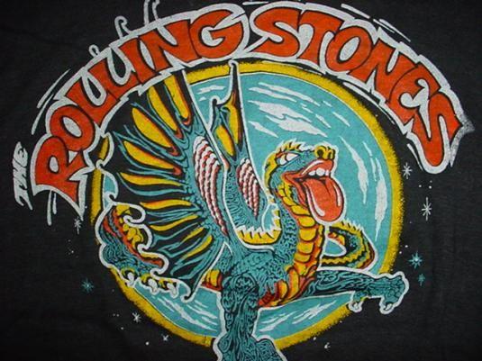 Vintage Rolling Stones US. Tour T-Shirt 1978 M  eb43ccb1d