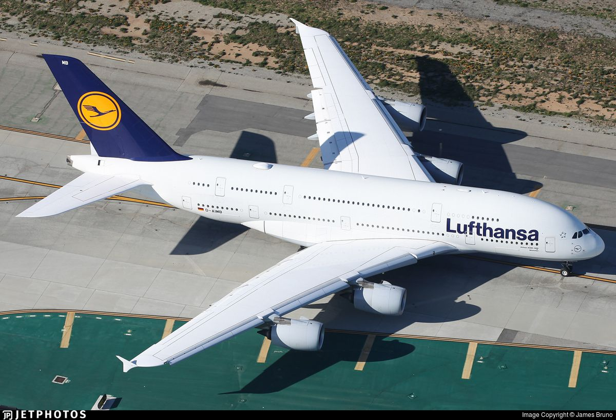 LH457 taxiing out for departure.. D-AIMB. Airbus A380-841. JetPhotos.com is the biggest database of aviation photographs with over 3 million screened photos online!