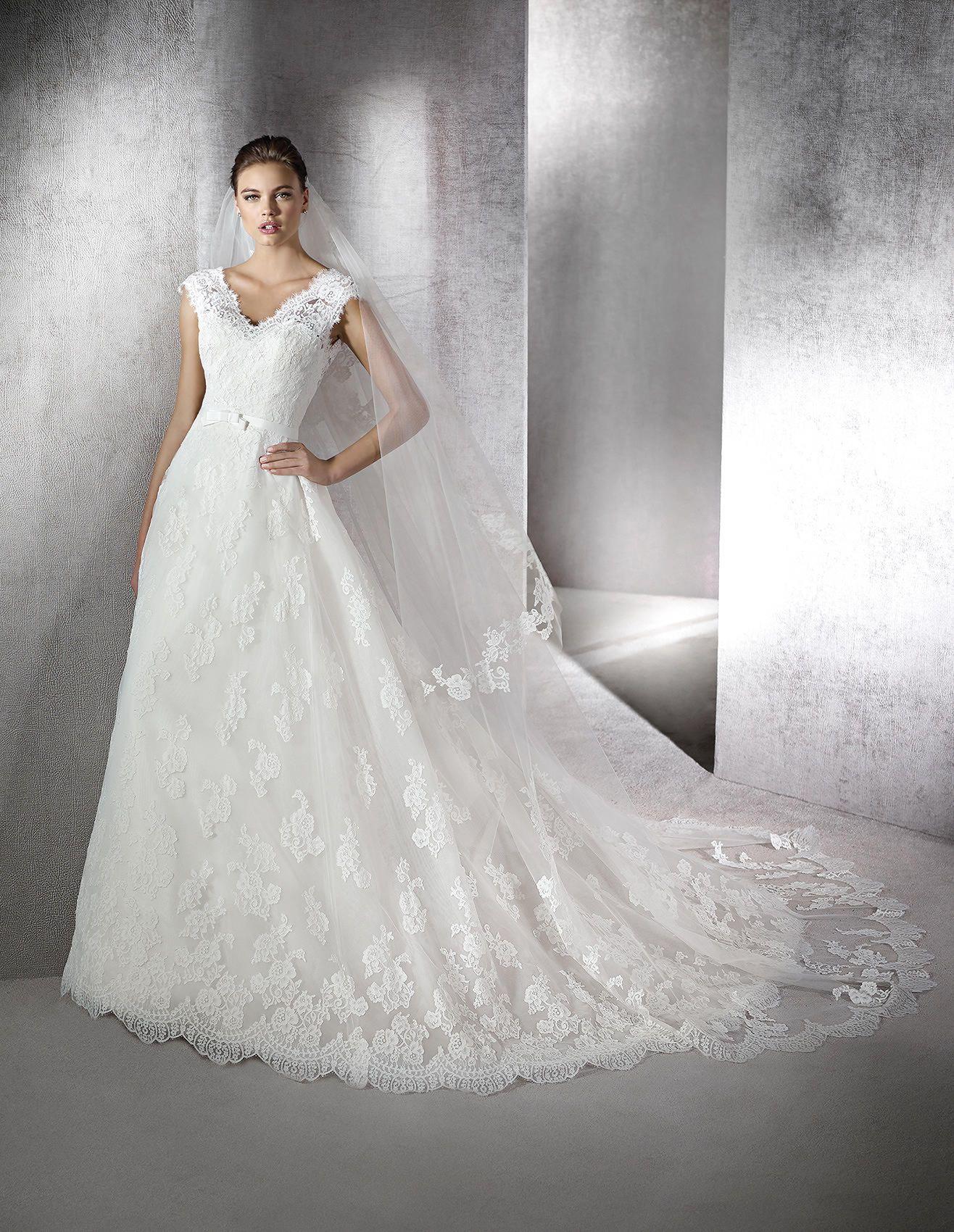 8c33680e3 ZELMIRA - Vestido de novia de estilo princesa