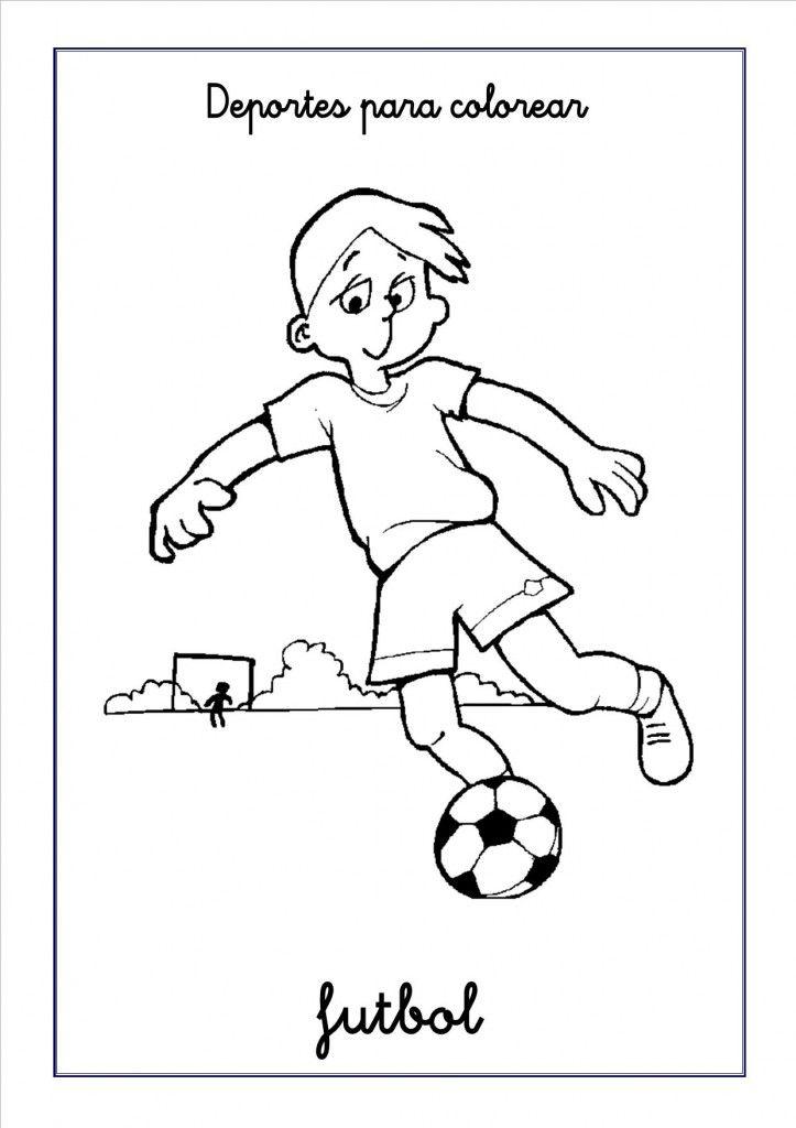 Dibujos de deportes para colorear | activiti | Pinterest | Deportes ...