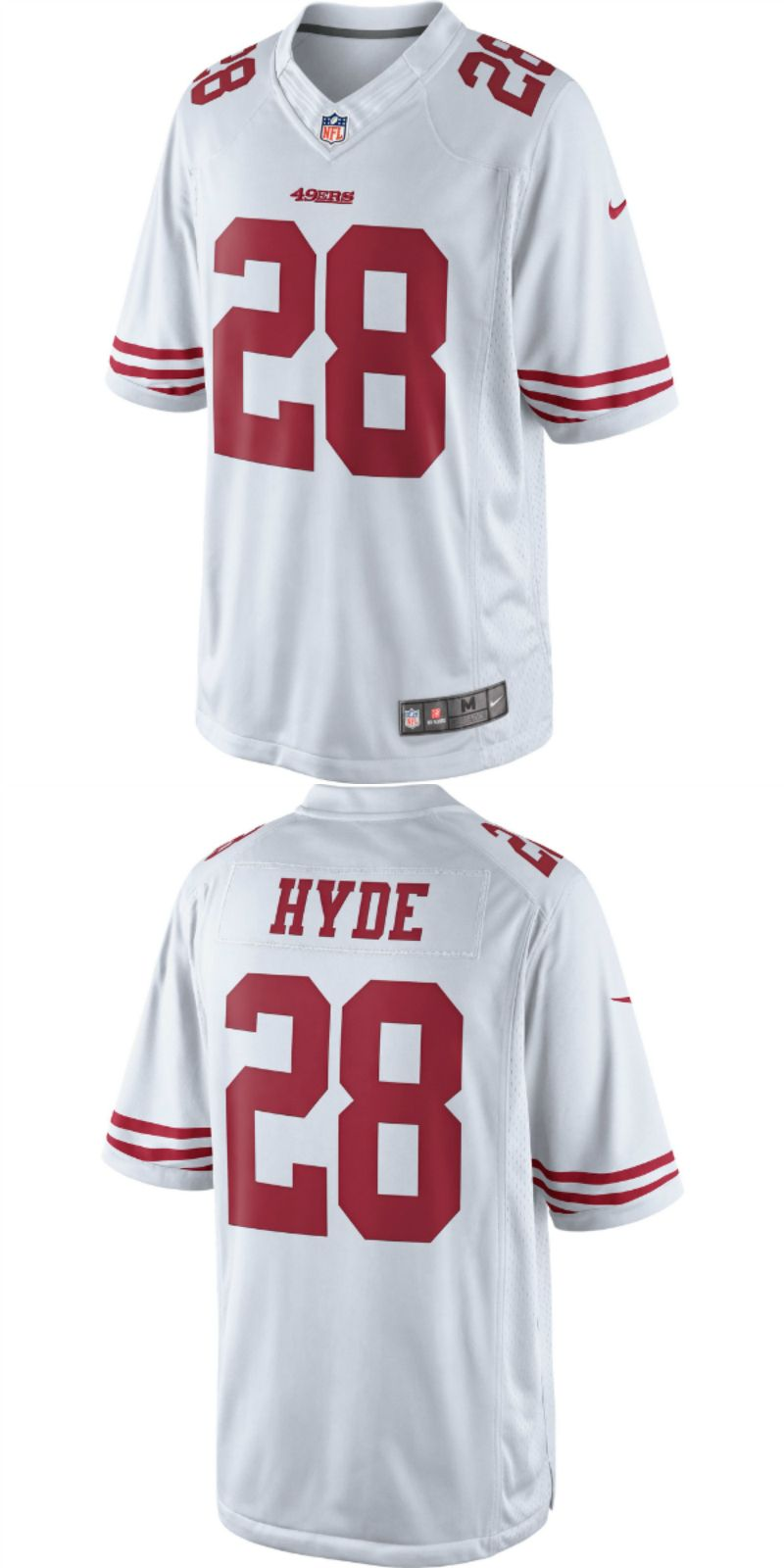 newest b0698 7a84e UP TO 70% OFF. Carlos Hyde San Francisco 49ers Nike Limited ...