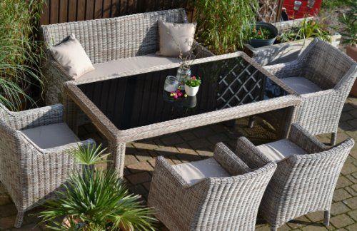 Fantastisch Nett Gartenmöbel Set Rattan