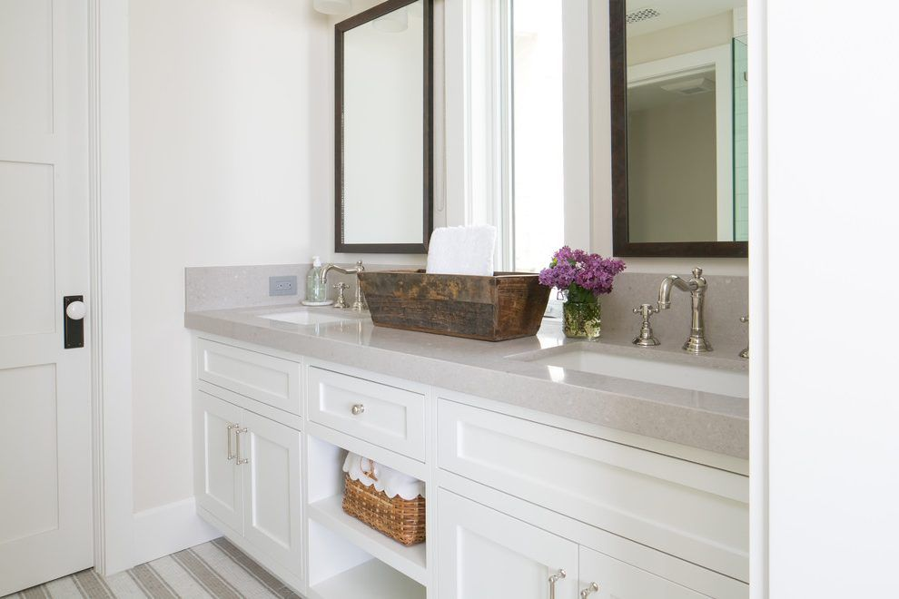 Lovely Bathroom Vanities And Beach Style in Orange County ...