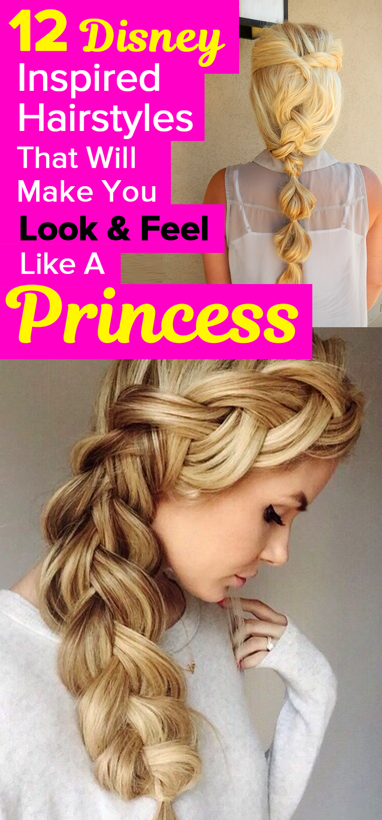 12 disney inspired hairstyles that will make you look & feel like a
