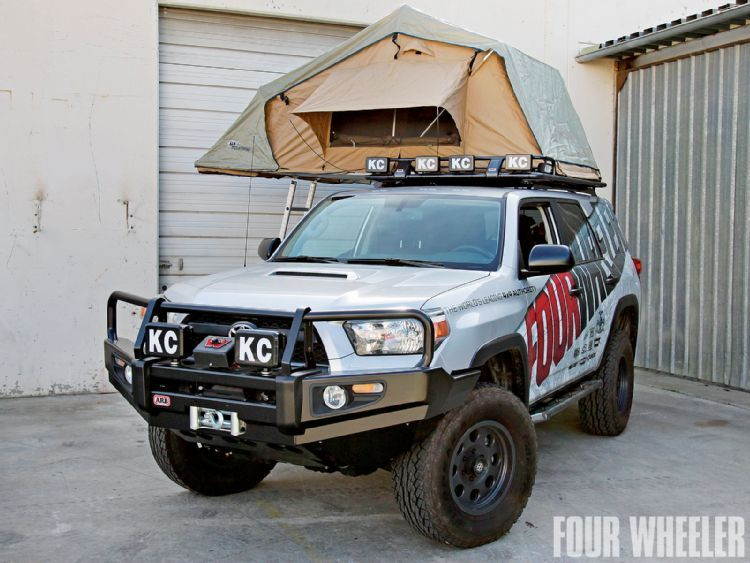Project Back Country 4runner, Roof tent, Arb rooftop tent