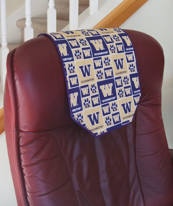 Recliner Chair Headrest Cover University Of By Chairflair On Etsy Diy Furniture Covers Headrest Recliner Chair