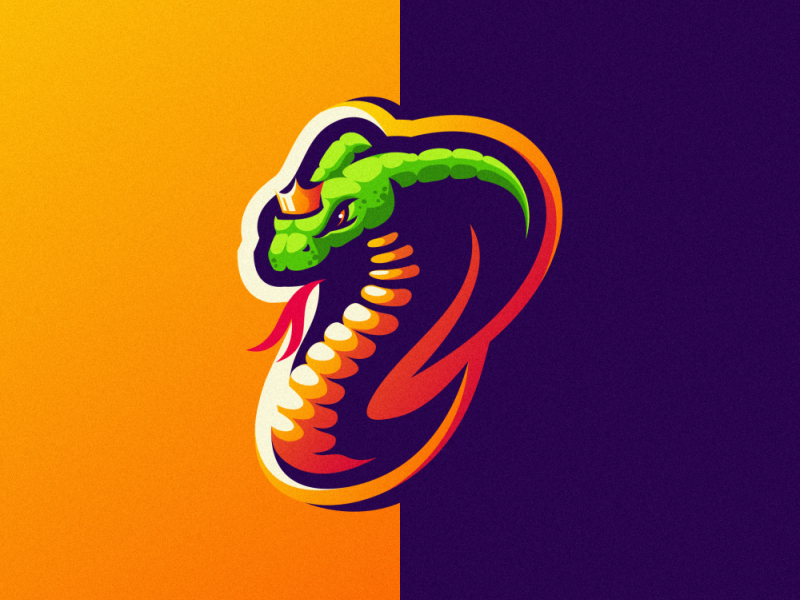 Malditong Agusanon Dribbble Could Commission Or Buy As Is Snake Logo Sports Logo Design Cool Logo