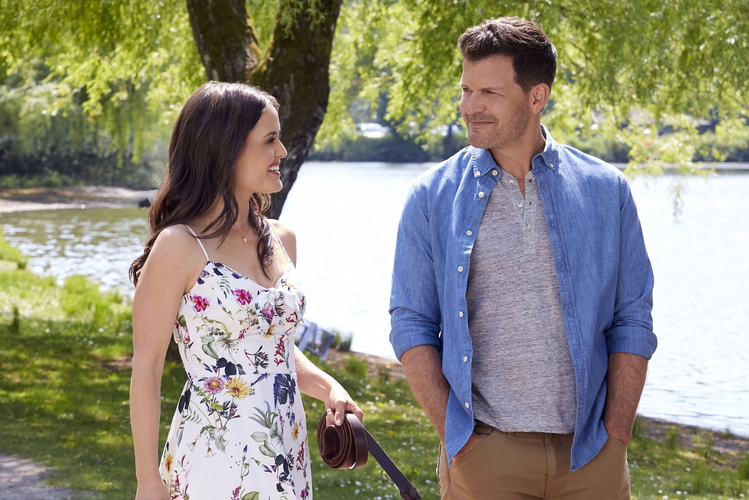 Check Out The Photo Gallery From The Hallmark Channel Original Movie Love And Sunshine Starring Danica Mckellar And Ma Movies By Genre Movies Romantic Movies