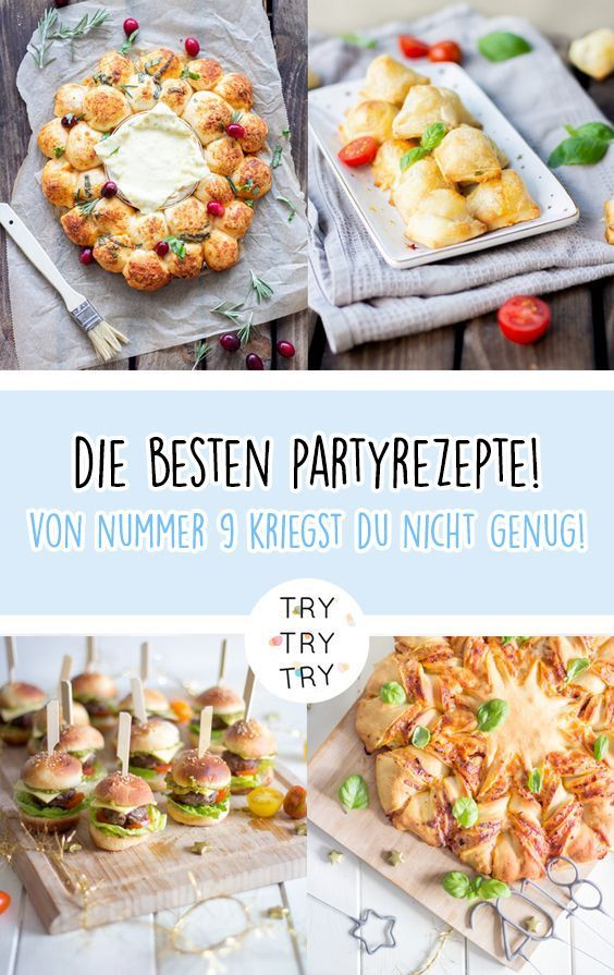 15+ einfache und kreative Ideen für Party Essen / Party Snack für Silvester / Snackidee / Partyessen für Geburtstage / Party-Snack für die Feiertage! / Party-Essen / DIY Party Essen / einfacher Party-Snack / Fingerfood /