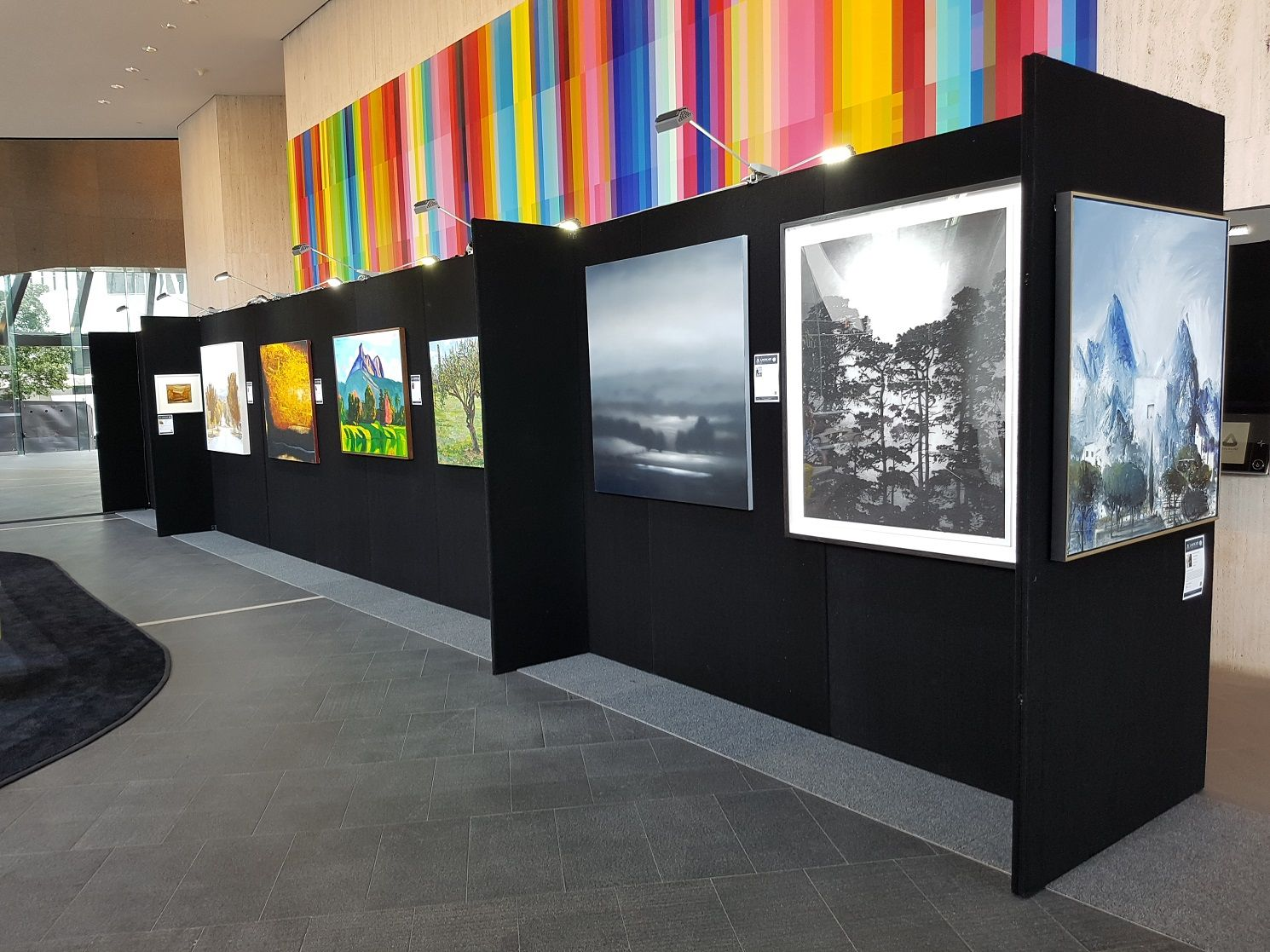 Exhibition Display Boards : Image result for art exhibition display boards art displays