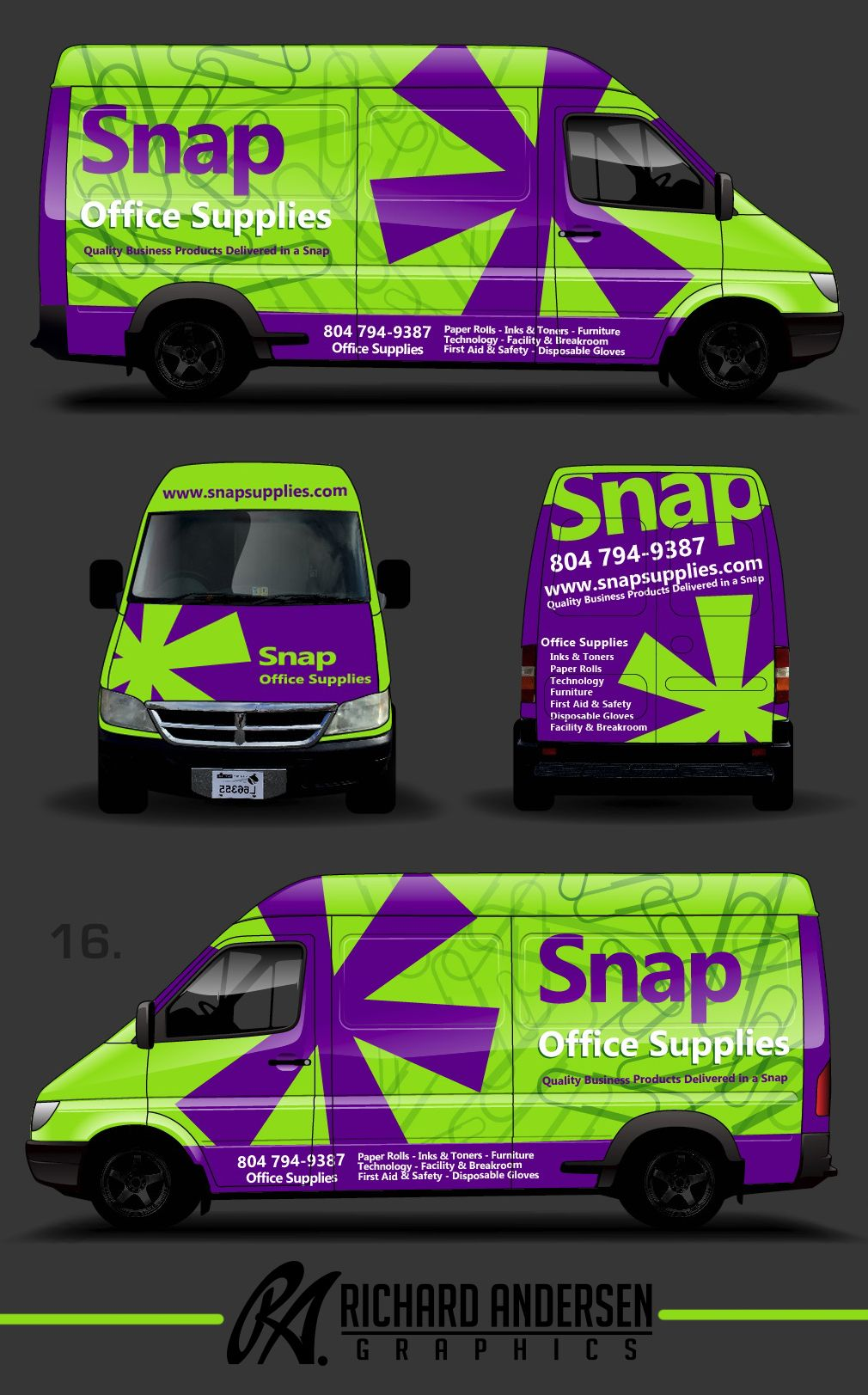 Wrap Design By Richard Andersen Https Ragraphics Carbonmade Com