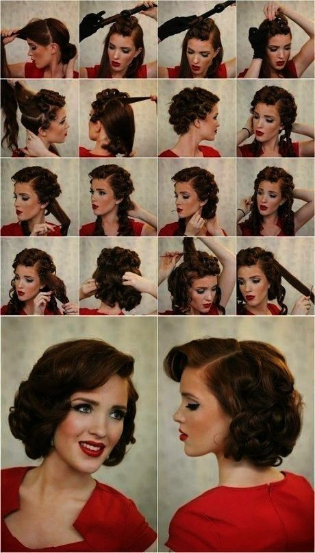 tutorial for long hair | Foto & Video 1930s hair tutorial for long hair | Foto & Video 1930s hair t