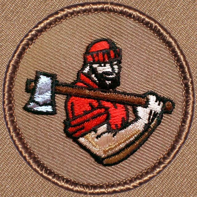 lumberjack patch