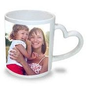 Buy stylish heart shaped handle mug and get it engraved with your wonderful photos from Digital Innovations. We will engrave your photo as per your requirement with complete finishing. Call us now at 9822222688