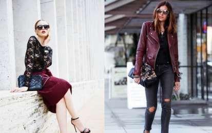 Cómo combinar el rojo burdeos: Consejos de estilo [FOTOS] - Os contamos cómo combinar uno de los colores de moda de esta temporada: el burdeos. Se puede conjuntar con colores oscuros, claros, vivos...