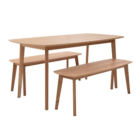 Novo 3 Piece Dining Package Natural 570