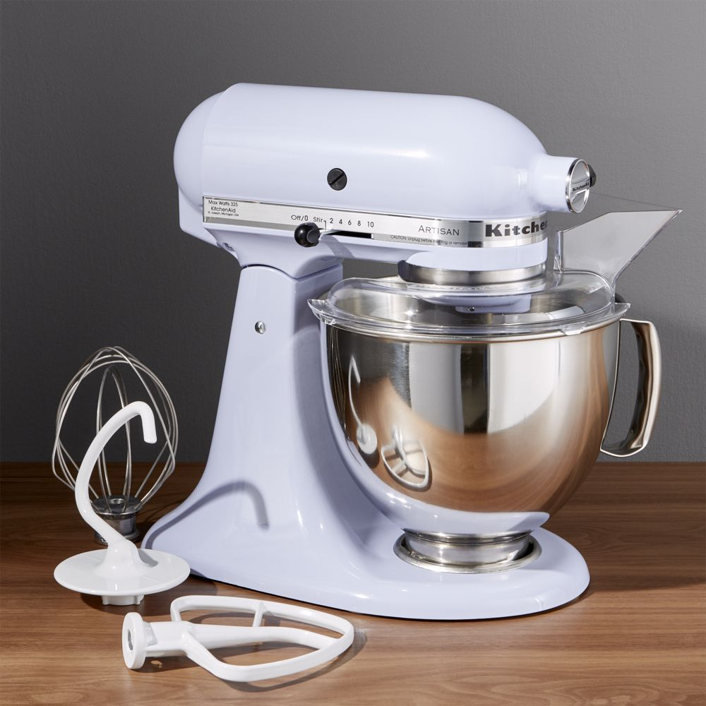 Kitchenaid Artisan Lavender Cream Stand Mixer Reviews Crate