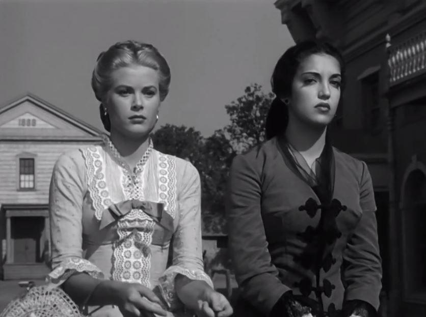 "princessgracekelly1956: """"Grace Kelly and Katy Jurado in High Noon ..."