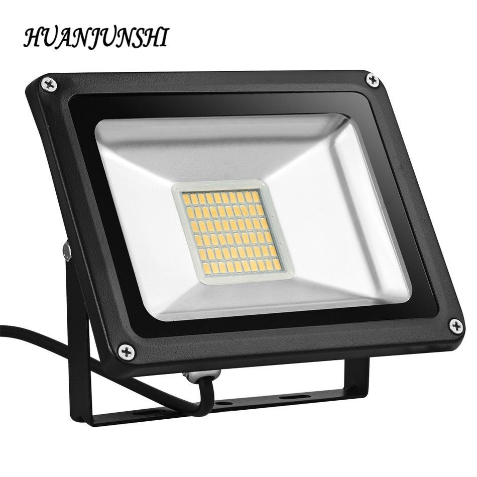 10w 20w 30w 50w 100w 220v Outdoor Led Floodlight Waterproof Warm White Floodlighting Garden Light Projecteur Led Exter Flood Lights Led Flood Lights Led Flood